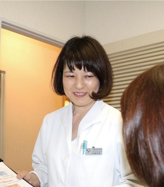 中田歯科医院 事務長 中田宏美