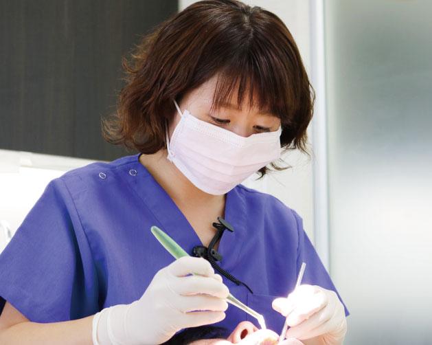 なかい歯科クリニック勤務 歯科衛生士 福島朋美