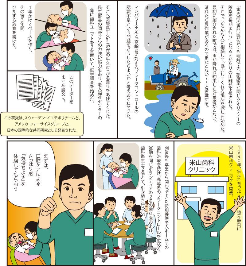 米山先生・奮闘記